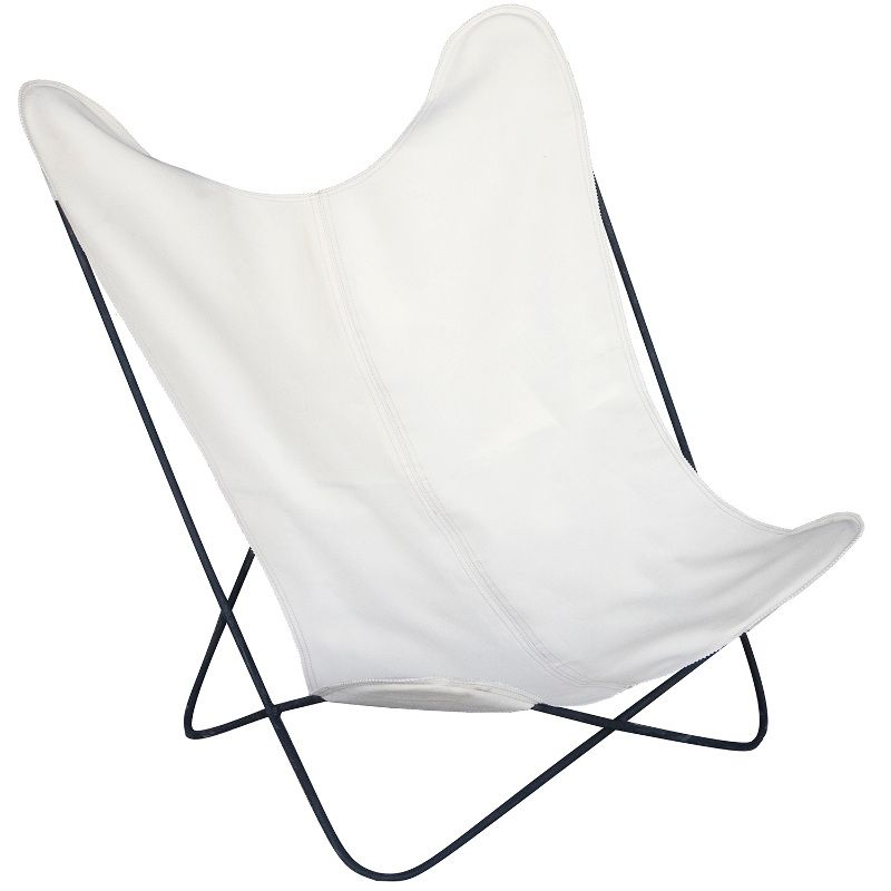 Butterfly chair white
