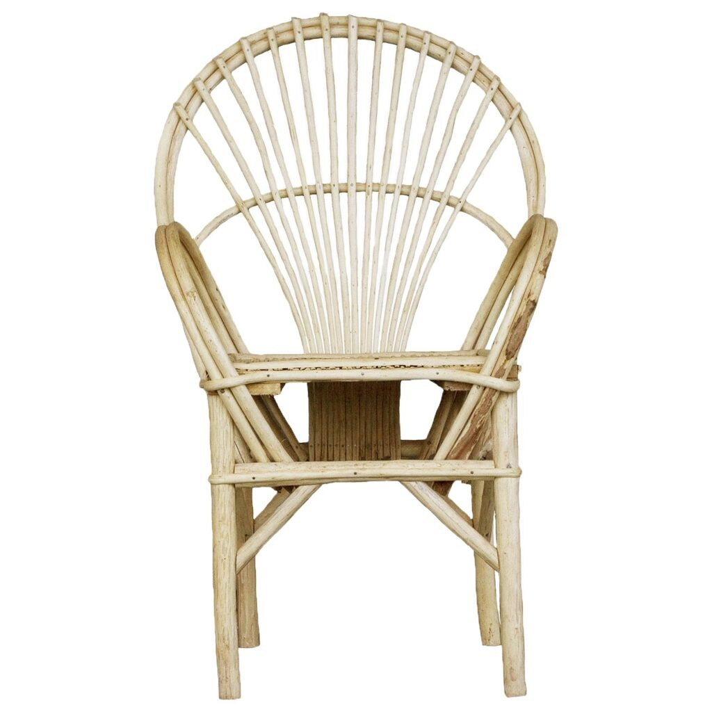 Essaouira chair natural 'straight'