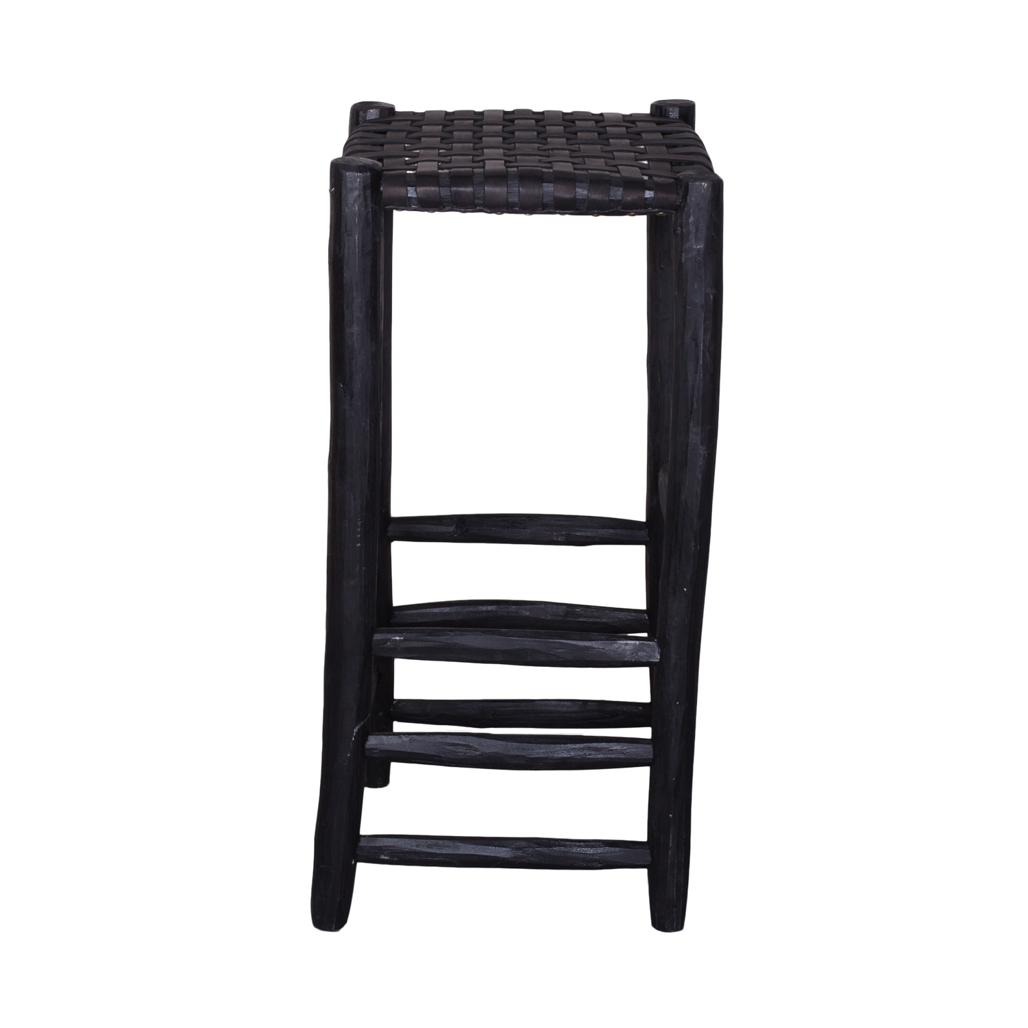 Astonishing Bar Stool Black Black Leather Seating Household Hardware Pabps2019 Chair Design Images Pabps2019Com