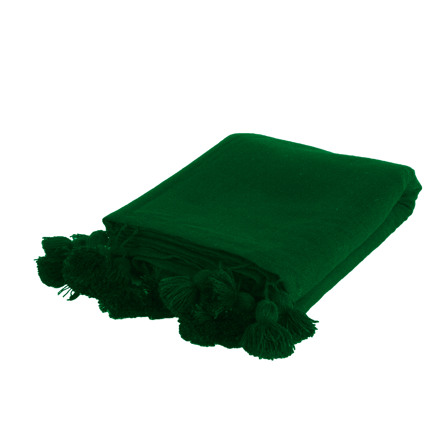 bedspread dark green